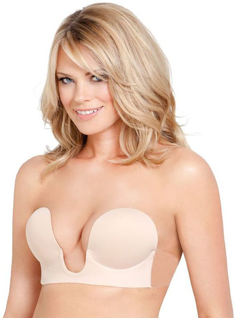 U Plunge Backless Bra