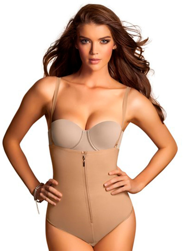 Strapless Bodyshaper with Thong