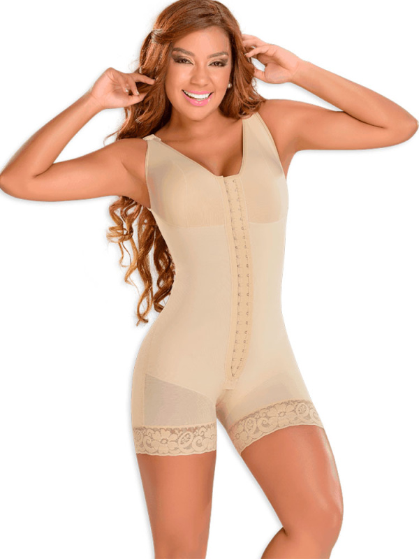Short Girdle with Bra
